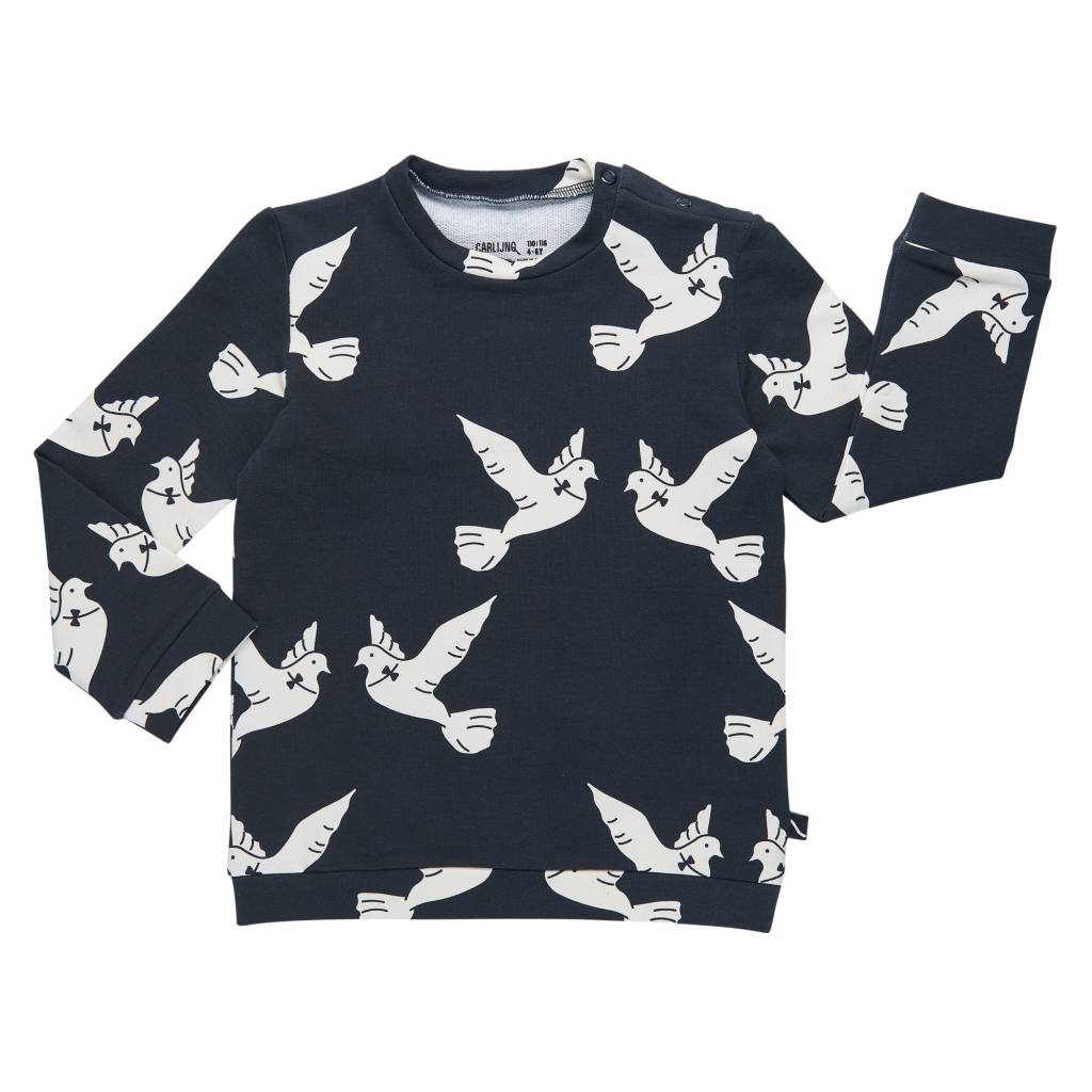 CarlijnQ Love birds sweater