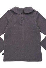 CarlijnQ Collar longsleeve dark grey