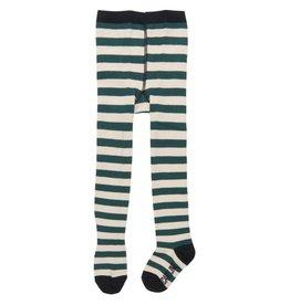 CarlijnQ Tights stripe green/off white