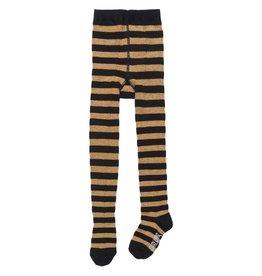 CarlijnQ Tights stripes black/gold