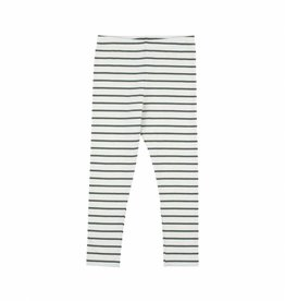 Tiny Cottons Small stripes pants light grey/light green