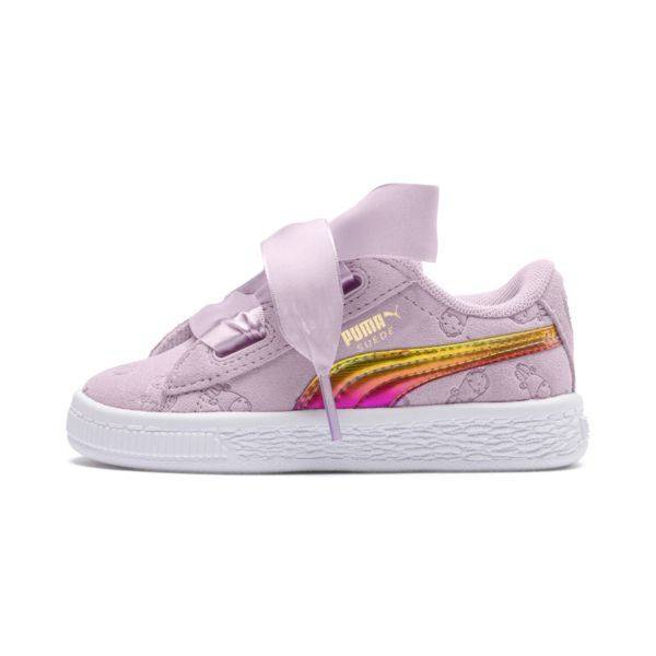 Puma Minions Suede heart fluffy inf