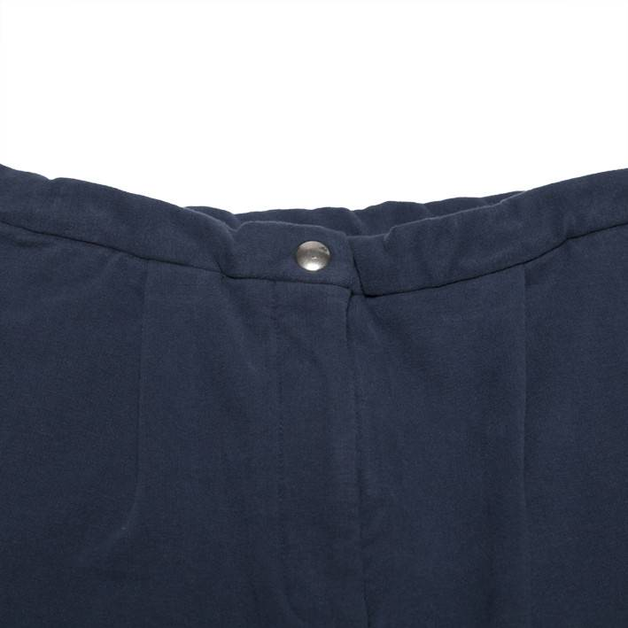 Mingo Cropped chino black iris