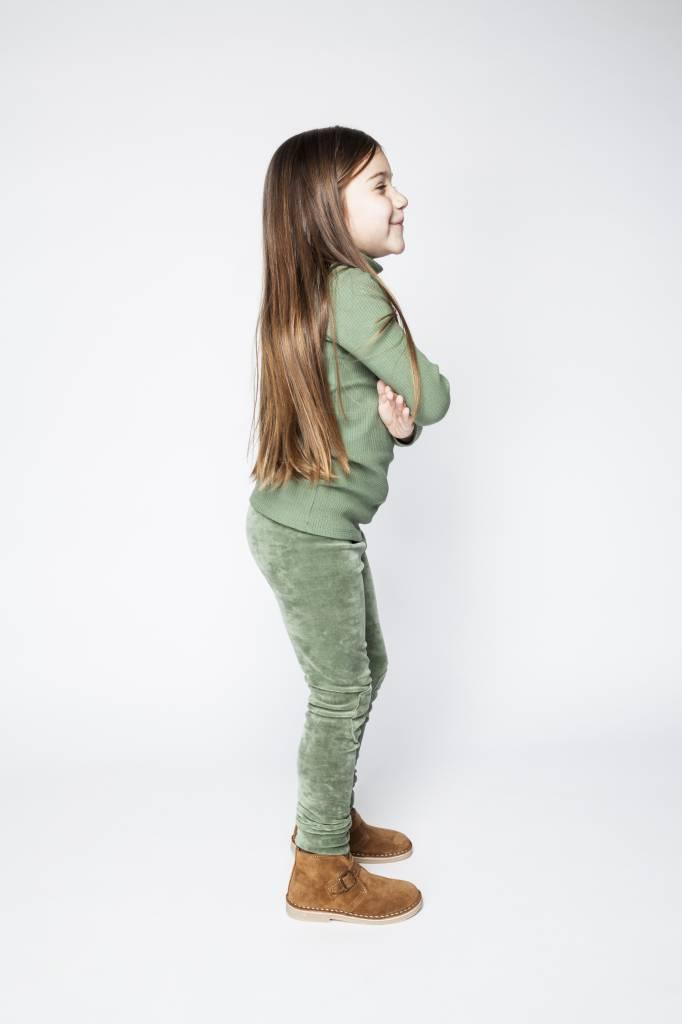 Mingo Legging duck green velvet