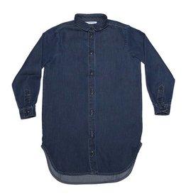Mingo Shirt dress blue denim