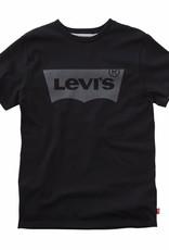 Levi's T-shirt jongens zwart