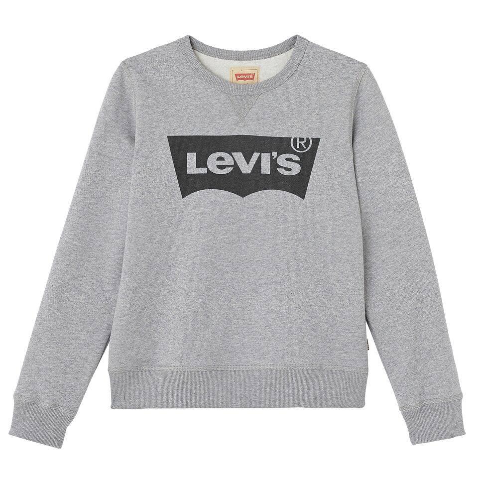 Levi's Basic sweater grijs