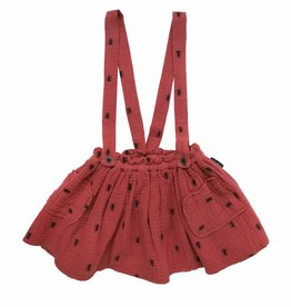 Sproet & Sprout Skirt ants allover dark cedar