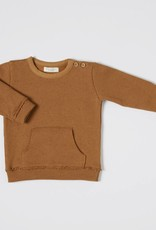 nixnut Kangeroo sweater rust