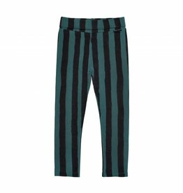 Sproet & Sprout Legging skinny forest green & black stripe