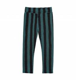 Sproet & Sprout Legging skinny forest green & black stripe