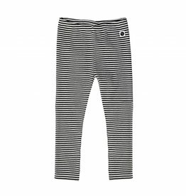 Sproet & Sprout Legging black & milk stripe