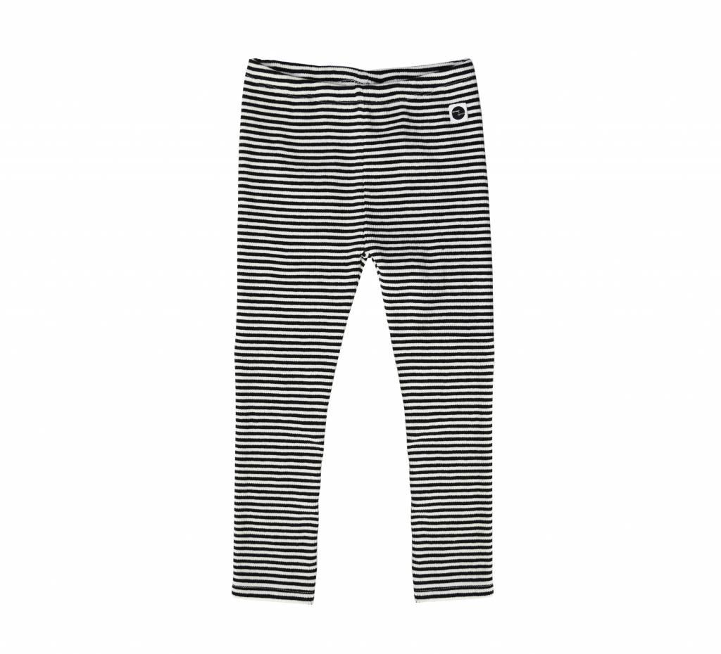 Sproet & Sprout Legging black & milk stripe