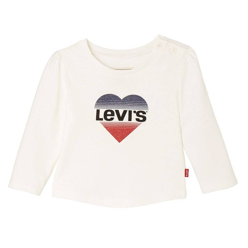 Levi's LS Tee hearty marshmallow