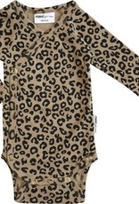 Maed for mini Brown leopard AOP body