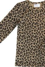 Maed for mini Brown leopard AOP longsleeve t-shirt