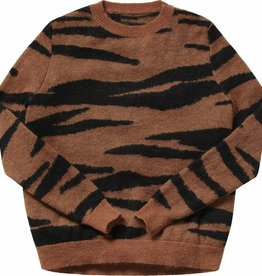 Maed for mini Mama tiger knit sweater