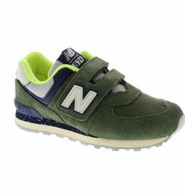 New Balance YV574HG dark covert green
