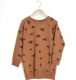 Lotie kids Long sweatdress birds