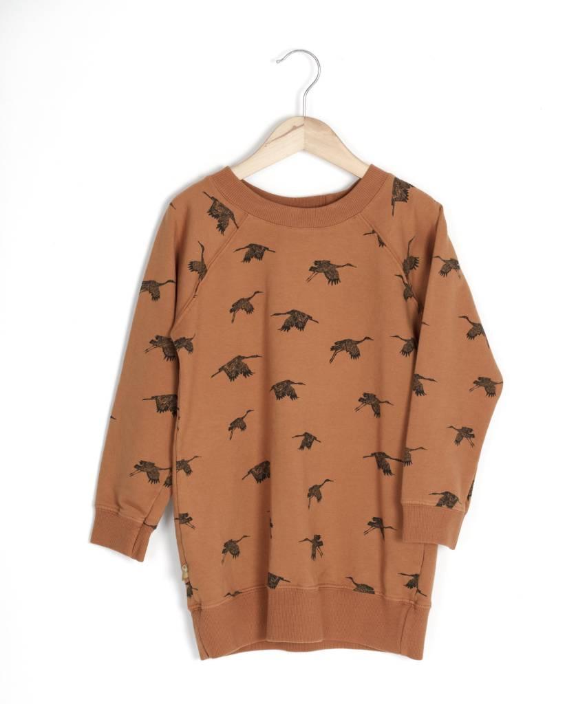 Lotie kids Long sweatdress birds
