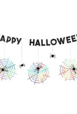 Meri Meri Halloween party guirlande spider