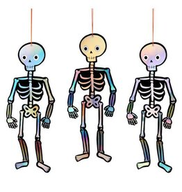 Meri Meri hanging Halloween Skeletons