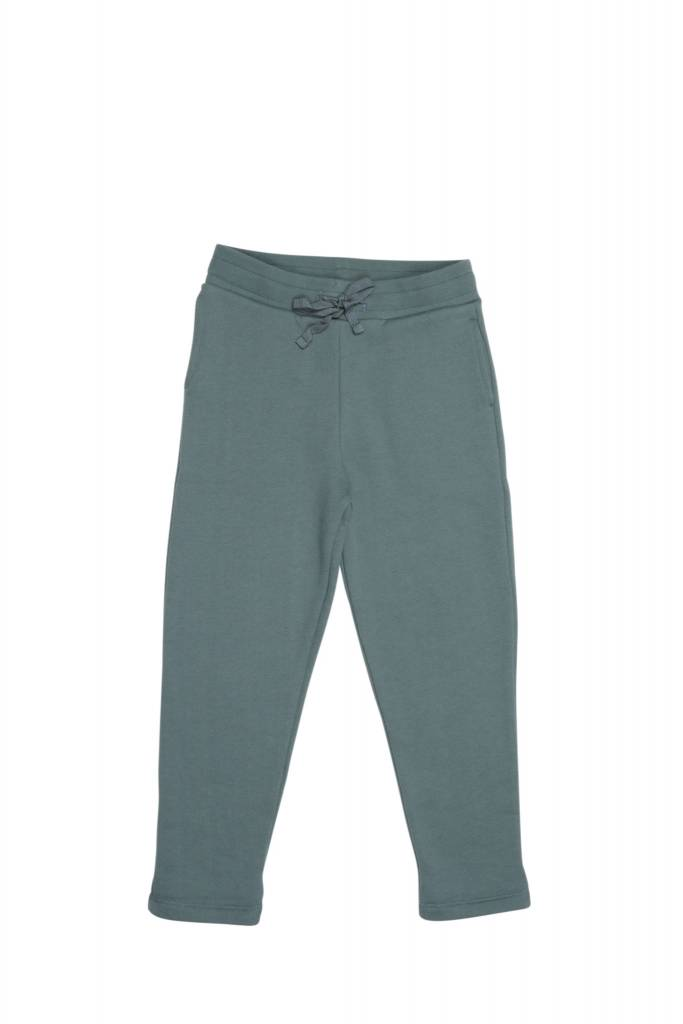 One we Like Pants no print silver green