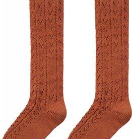 Maed for mini Knee socks rusty rabbit