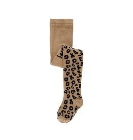 Maed for mini Tights sahara leopard