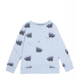 Sweater basic bear baby blue