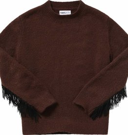Maed for mini Decadent dachshund knit sweater