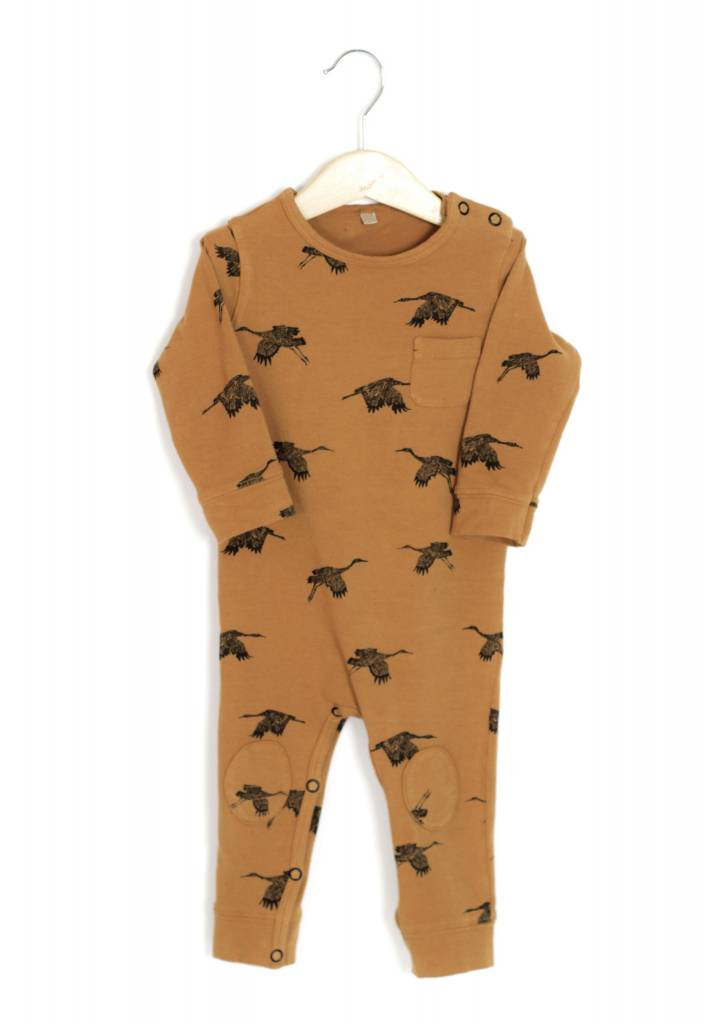 "Lötie kids Jumpsuit ""birds"" flame 