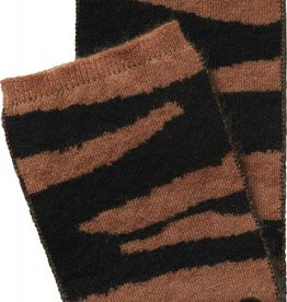 Maed for mini Scarf brown tiger