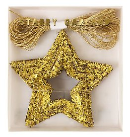 Meri Meri Starry garland gold