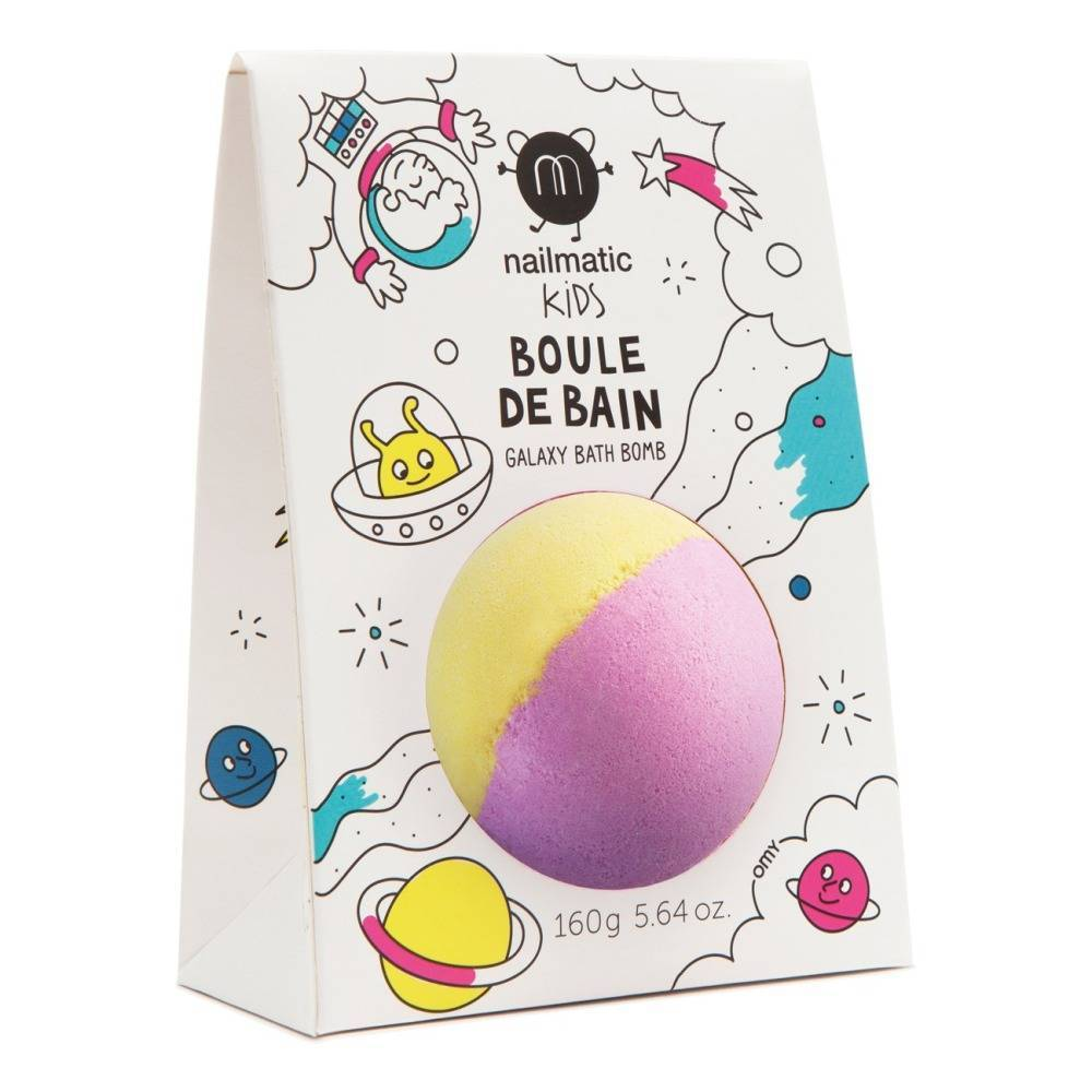 Nailmatic Bath ball with pack Yellow-Pink