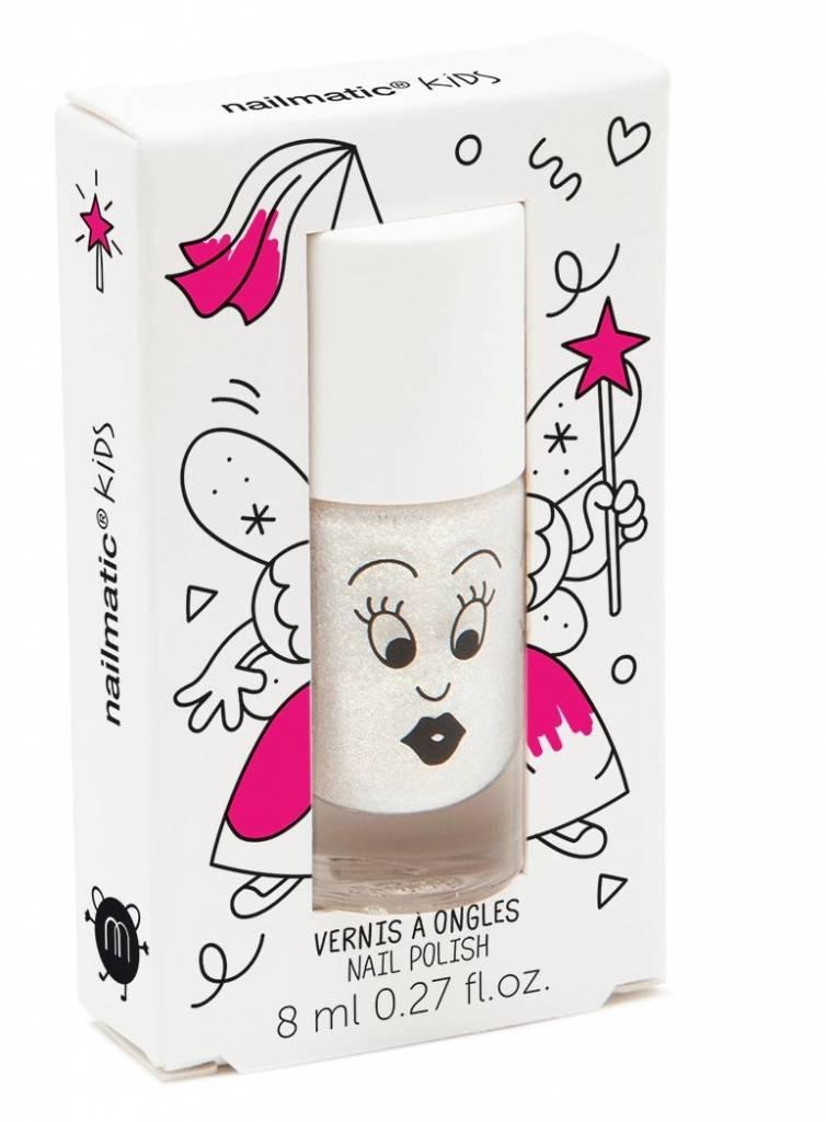 Nailmatic Pearly white water based nail polish Zouzou
