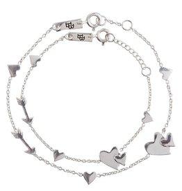 Lennebelle Petites Motherlove armband zilver