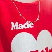 Lennebelle Petites You are loved Ketting uni Zilver