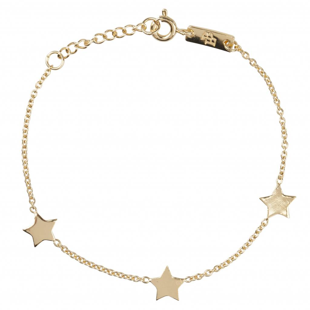 Lennebelle Petites You are my shining star Moeder & Dochter cadeauset armband Verguld