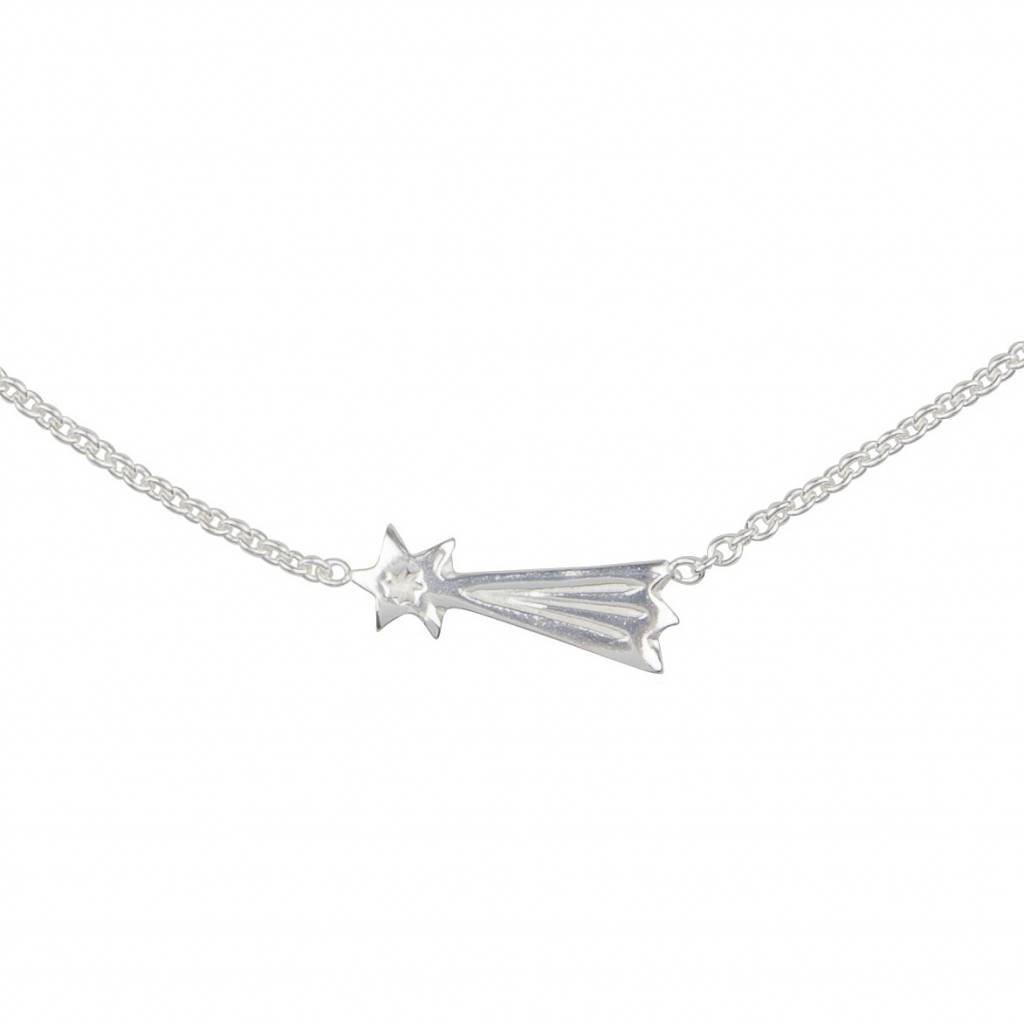 Lennebelle Petites You make my wishes come true uni Ketting Zilver