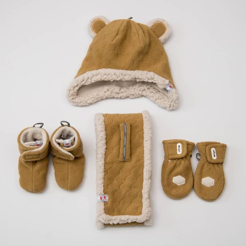 Lodger Baby sjaal Fleeze Caramel