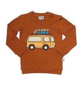 CarlijnQ Sweater with van print road trippin