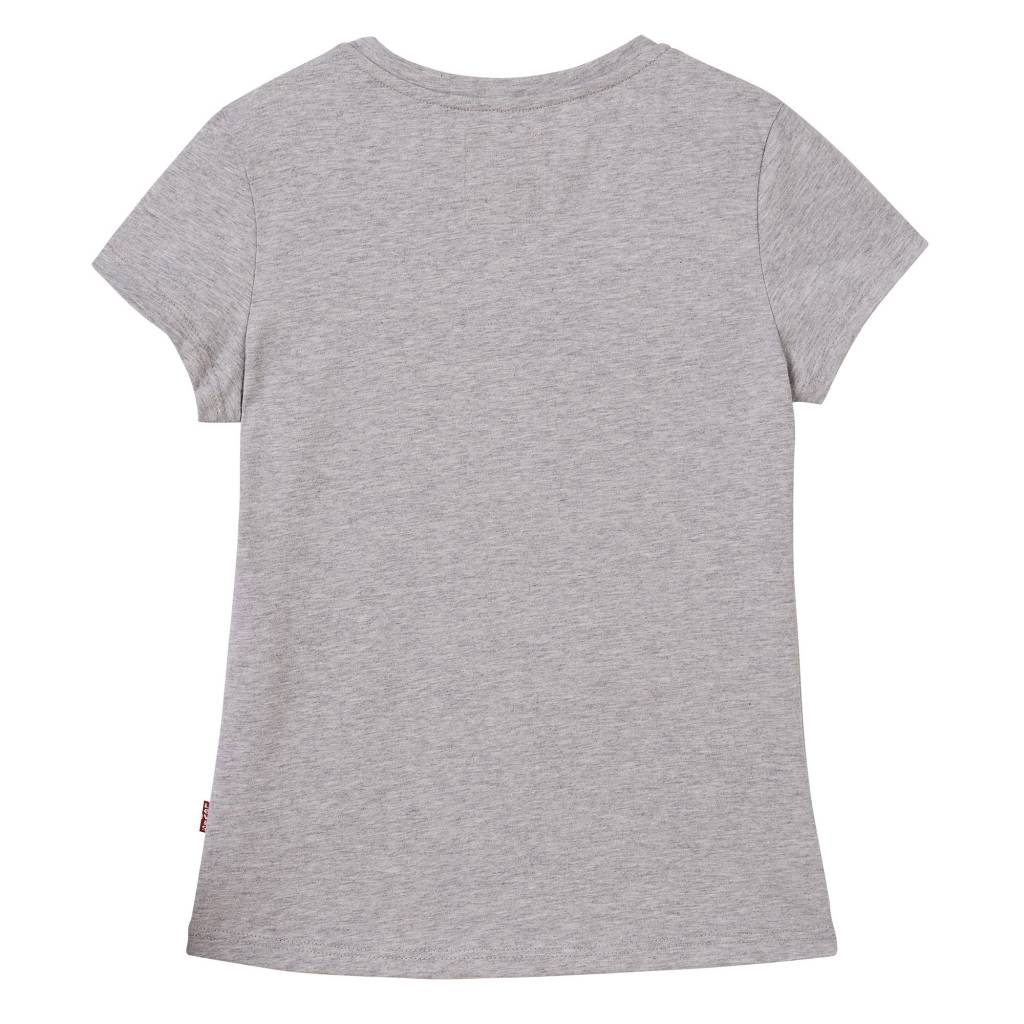 T-shirt grey melange girls