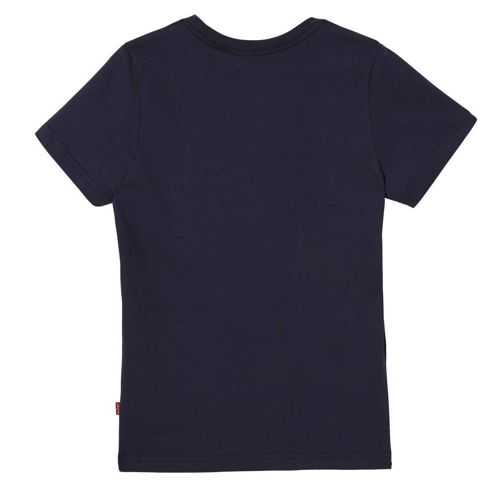 Levi's T-shirt dress blue