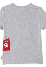 Levi's T-shirt grey  batsy melange