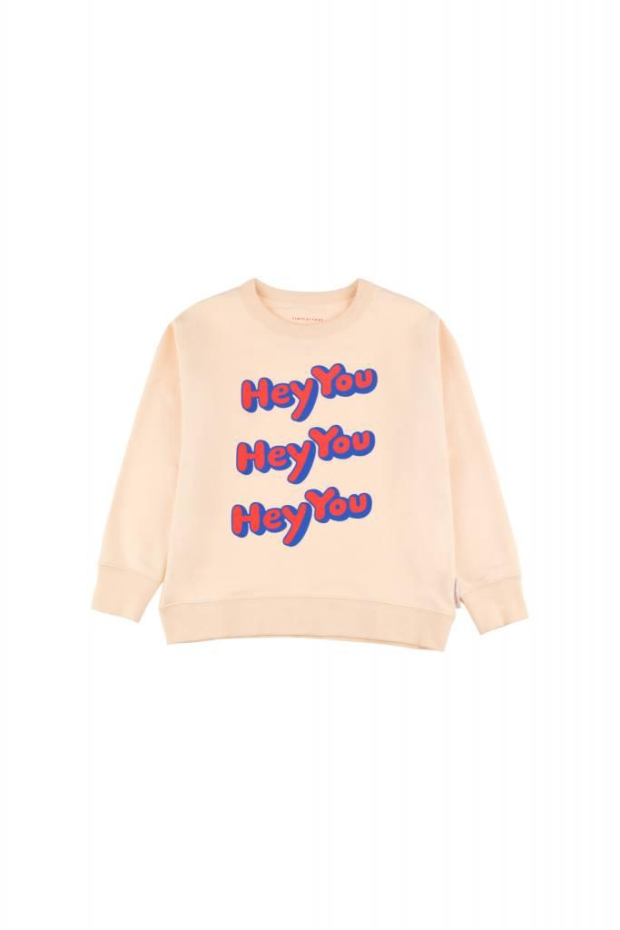 Tiny Cottons HEY You sweatshirt