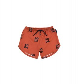 Tiny Cottons SODA Trunks sienna/ navy