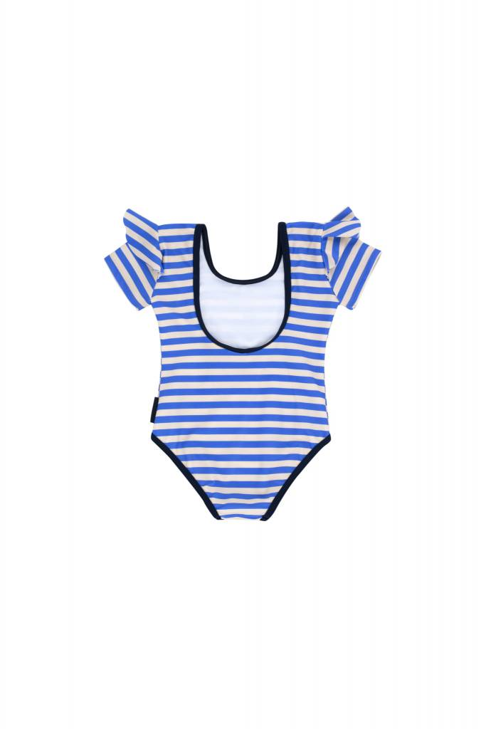 Tiny Cottons Stripes frill swimsuit