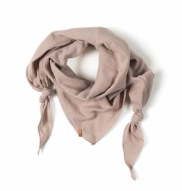 Nixnut Triangle scarf old pink