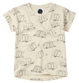 Sproet & Sprout T-shirt caravan AOP